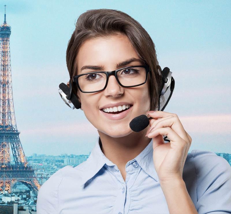 Un accueil de qualité Made in France : Mes-secretaires.com