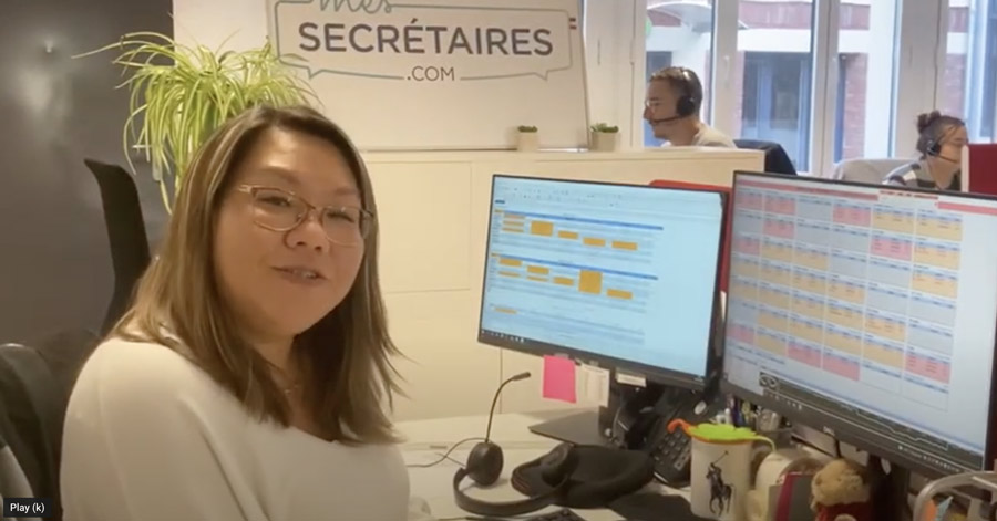 Mes-Secrétaires : Joséphine, Chef de plateau, présente son métier.